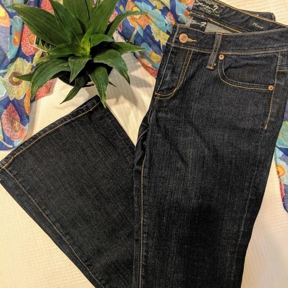 Seven7 Denim - Seven 7 Dark Wash Classic Flare Jeans Size 30